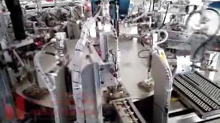 虎雅插头全自动组装装配机视频