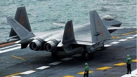 中国第二代舰载机现身, 机尾舰载挂钩独特, 上航母指日可待了