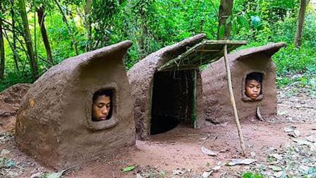 丛林迷你庇护所, 农村兄弟住在里面不难受吗?