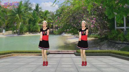 蓝天云广场舞 一爱到老 动感64步广场舞教学分解 含正背面演示