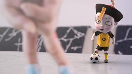 小僵尸围观世界杯遭爆冷对待, 最后却成球场最大赢家 僵小鱼日常第二季23
