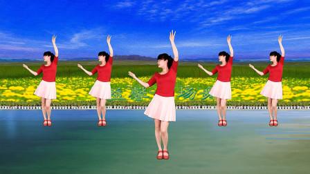 初级恰恰舞32步 最美的情缘广场舞教程