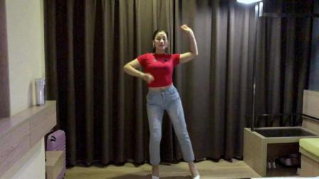 适合初学者健身舞教学波斯猫 青青世界教你跳