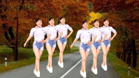 玫香广场舞《快快说声我爱你》32步附教学