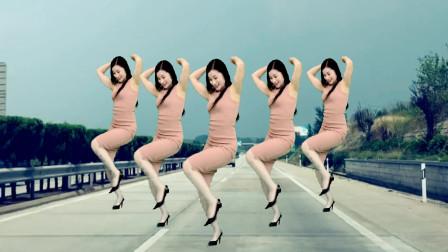 中年精品广场舞《野花香DJ》 青青世界舞蹈视频
