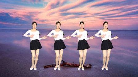 动感32步简单健身操爱到天涯 艾And幼黑丝职业裙舞蹈视频