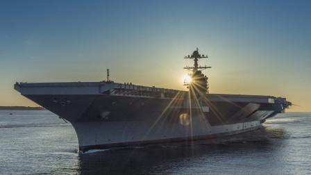 头号核航母驶入大西洋,庞大甲板空荡荡,技术一流却难堪大用