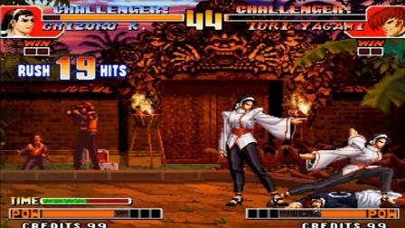 拳皇97 我敢说这是目前为止神乐最花式的一套连击!
