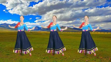 广场舞《次真拉姆》经典藏族舞 适合新手