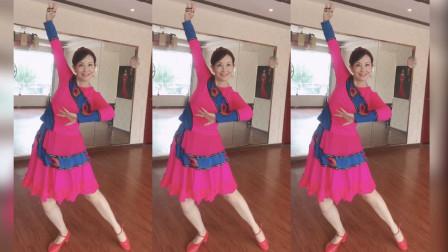 美久广场舞《荞麦花》 免费舞蹈教学口令清晰