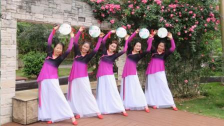 广西柳州彩虹健身队《多情种》古典舞 编舞:春英