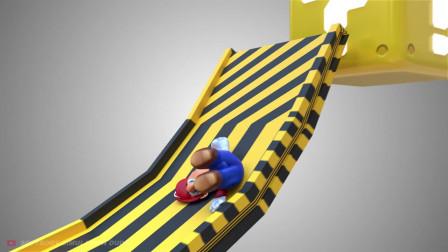 其他动画-果冻马里奥-Softbody Simulation Dude