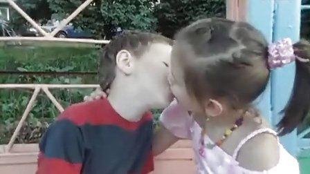 (Opva)(2013) Russian Little Boy And Girl Kiss