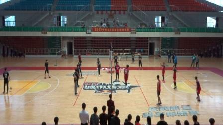 青岛大学2017年学生排球赛冠亚军决赛:体育学院