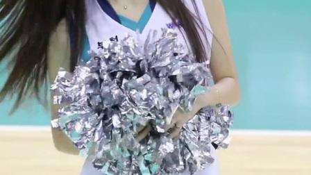 180106 韩国职业篮球联赛 啦啦队美女 안지현(2