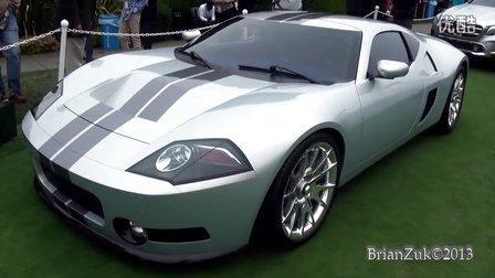 2013圆石滩车展 Galpin Ford GTR1实拍
