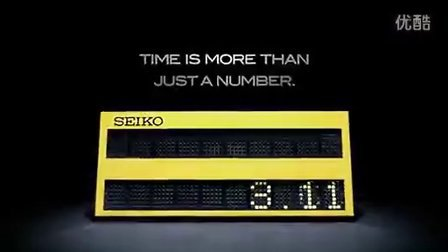 TIME IS MORE THAN JUST A NUMBER-SEIKO 13年田径世锦赛全新广告