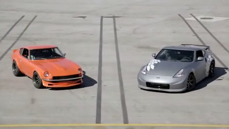 Nissan Project 370Z vs 1970 Datsun 240Z with RB26 Track Batt