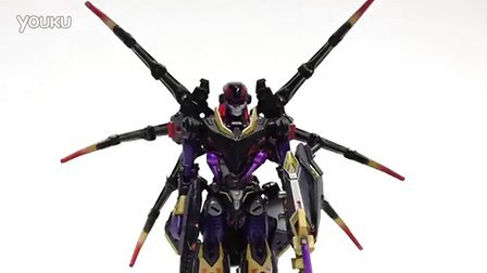 Peaugh的变形金刚:Perfect Effect PE-DX02 黑寡妇毒蜘蛛