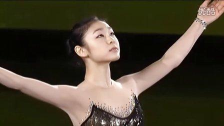 2008年花样滑冰大奖赛总决赛金妍儿表演-Gold