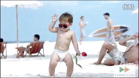 Huggies  好奇纸尿裤  TVC-----上海红萝卜广告制作