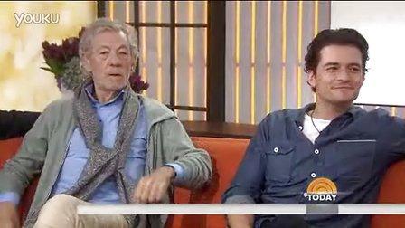 2013年10月1日Orlando和Ian做客NBC Today Show