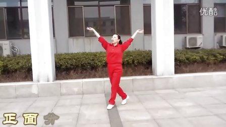 广场舞  又见山里红  附分解、背面示范
