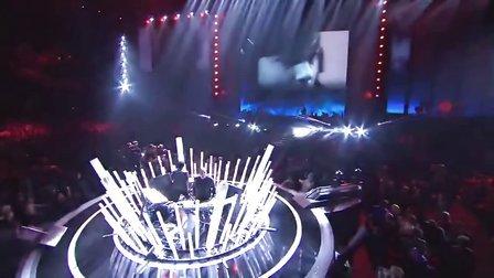 英雄联盟 S3世界总决赛开幕式开场秀 超酷劲爆乐团表演 720P HD
