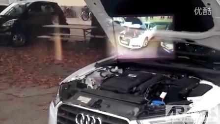 AR增强现实案例 – 谷歌眼镜虚拟汽车维修