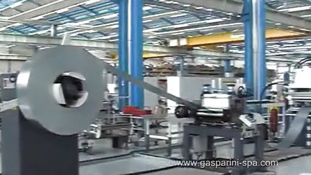 意大利进口冷弯成型-辊压成型流水线设备