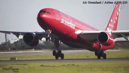 空客A330飞机起飞