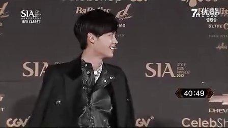 131024 李钟硕 Style Icon Awards 2013(SIA) 颁奖典礼 红地毯