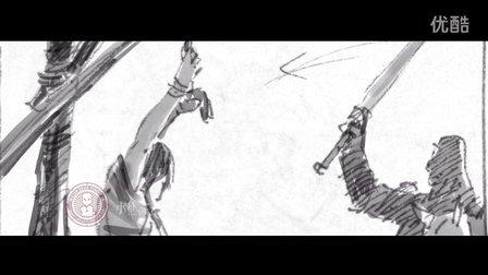 电影手绘分镜故事-视频展示