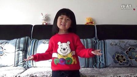 三岁 完颜俊又 小格格 讲故事 小马过河