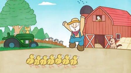 老麦当劳有个农场Old MacDonald Had a Farm-LittleFox系列英文儿歌