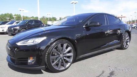 划时代的产物 Tesla Model S P85 电动轿车 内外深入介绍