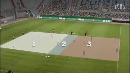 快速团队:德国国家队传球训练⑥(Gegenpressing 德式压迫)
