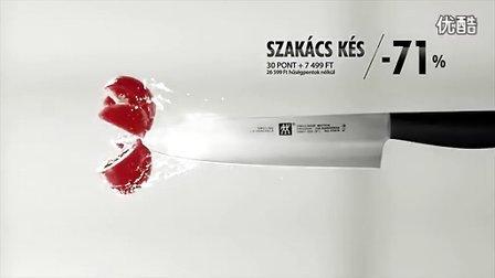 德国双立人刀具创意广告
