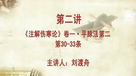 刘渡舟《注解伤寒论》02(字幕版)