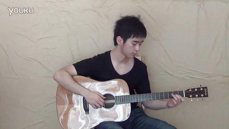 重庆吉他 Bossa nova版指弹吉他秋叶 巴萨诺瓦 典弦吉他教室