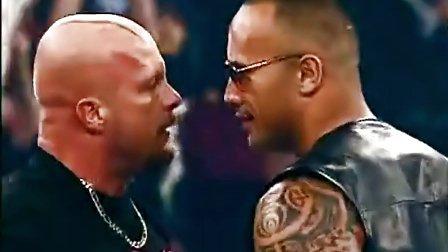 摔跤狂热33 2013WWE摔跤狂热经典大战 巨石强森VS奥斯丁 The Rock Vs Stone SD RAW