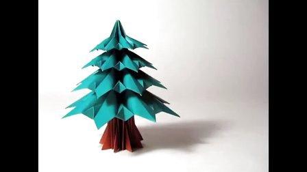 『圣诞树』折纸教程