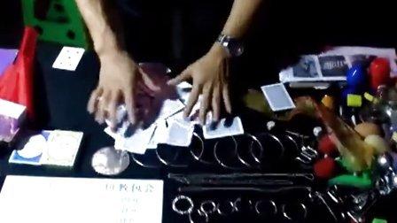 广东珠海哪里可以学魔术 街头表演近影地摊魔术教学 手法精彩绝伦