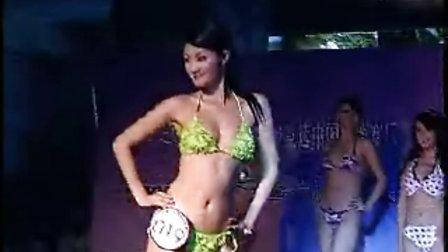 2007亚洲小姐竞选成都赛区晋级赛火辣泳装