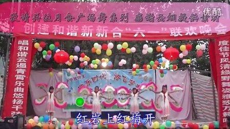 月食广场舞红梅赞【少儿】