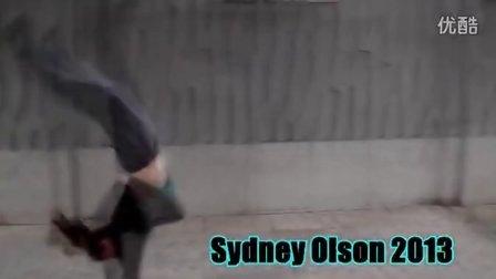 成都跑酷美少女 Sydney Olson 2013 Showreel  PARKOUR