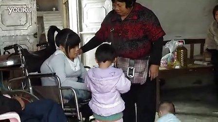 轮椅上的儿麻母亲(二)