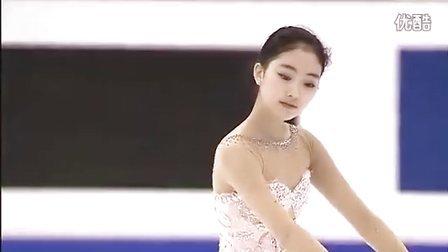李子君 2014四大洲花样滑冰锦标赛 自由滑