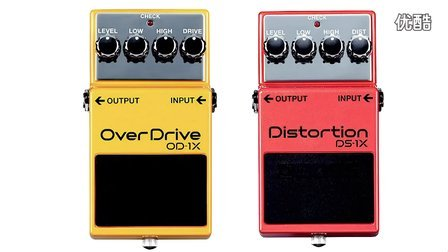 BOSS  OD1X Overdrive and DS1X Distortion