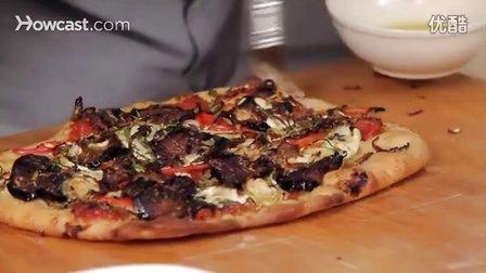 [家庭披萨]14.蔬菜披萨